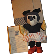 Disney Limited Edition Knickerbocker Cloth Minnie  Mouse Doll Free P&I US Buyers