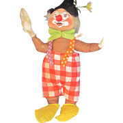 "Vintage Annalee red tag  19"" clown doll Free P&I US Buyers"