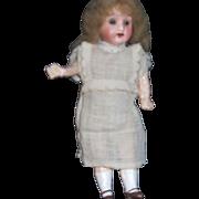 "8"" Vintage Bisqe lass eye Doll Free P&I US Buyers"