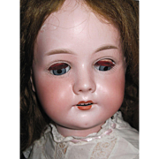 "SALE 23"" C.M. Bergmann Child Bisque doll Free P&I US Buyers"