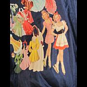 Vintage Sonja Henie Paper dolls Free P&I US Buyers!