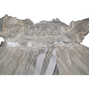 Lovely Organdy Doll tagged  dress  for Madme Alexander Kathy doll Free P&I US Buyers