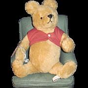 1989 Winnie the Pooh Bear W/CHAIR John Wright 198/500 ltd Free P&I US Buyers