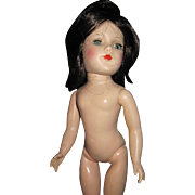 "Lovely 14"" Brunette Plastic Mary Hoyer Doll Free P&I US Buyers"