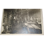 1907 Omaha Nebraska Bicycle Shop Real Photo Free P&I US Buyers