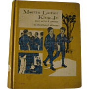 1969 Martin Luther King Jr. Boy with a Dream Book by Miender