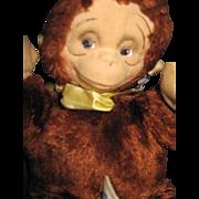 "10"" Knickerbocker Adorabe Monkey Free P&I US Buyers"