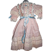 Vintge Doll dress for Alexander Effanbee Fashion doll Free P&I US Buyers