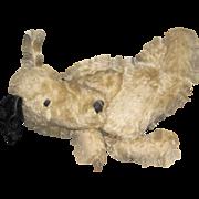 Adorable Mohair Floppy Ear Doggie PJ Bag Free P&I US Buyers Free P&I US buyers
