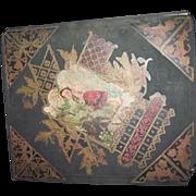 1800's Victorian Trade Card Album Children babies Birds Flowers Free P&I US Buyers