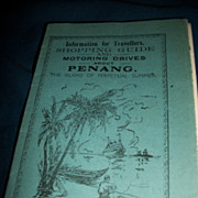 PenangTourist Guide map RR Views Free Postage Insurance