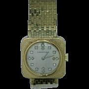 Longines Antique Watch 14 Karat Gold and Diamonds
