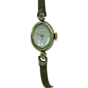 Hamilton Watch 10K 1/10 Gold Filled Kathy Bates JewelryCollection Vintag