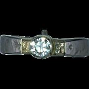 Pallidium Textured Diamond Engagement Ring