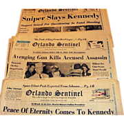 Kennedy Assassination Collection 1963