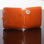 SOLD Leather Vesta by J C Vickery of London