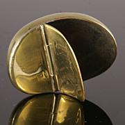 Delightful Brass Snuff Box