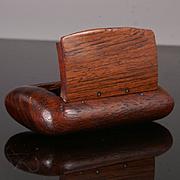 Antique Rosewood Snuff Box
