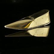 Early 19th Century Brass Shoe Snuff