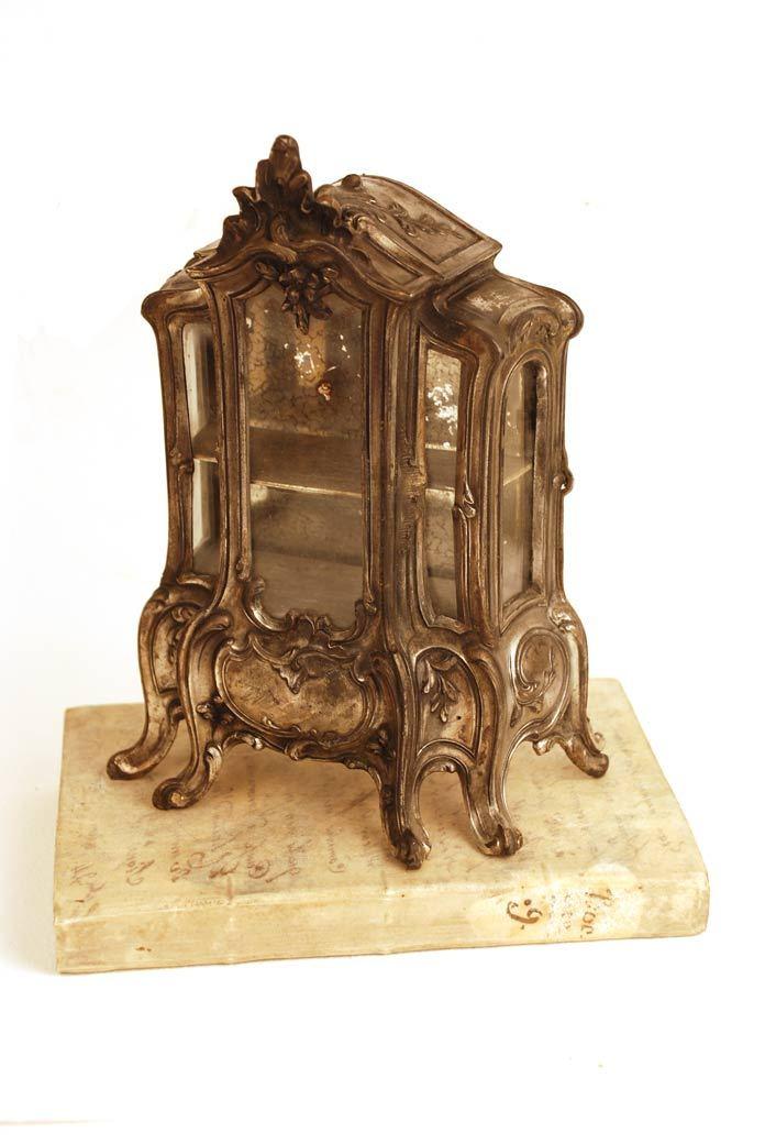 Antique nineteenth century miniature french etagere box - Etagere scandinave vintage ...