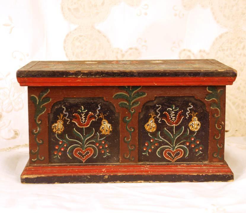 German/Dutch Hand Painted Box