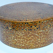 Antique Japanese Lacquer Wood Chabitsu Tea Box