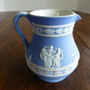 Wedgwood Light Blue Jasper Ware Small Etruscan Jug