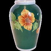 Krüger Geiersthal Hand Painted Porcelain Vase Germany
