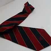 Vintage Authentic Gianni Versace Silk Necktie