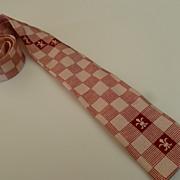 Vintage 1950's Slim Neck Tie