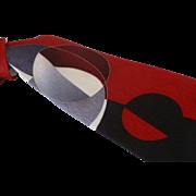 Enrico Capucci Silk Necktie Italy 58 Inches