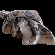 J.Crew Silk Twill Scarf Made in Italy