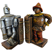 Wizard of Oz Chalk Ware Bookends Progressive Art Products