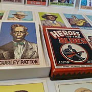 First Edition 1980 Robert Crumb's Heroes of the Blues Card Set