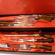 Sheffield Cutlery Set 9 pc Stainless Steel with Bakelite Handles