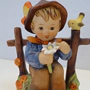 """Vintage Hummel Goebel Figurine """"She Loves Me, She Loves Me Not""""  #174  W. Germany"""