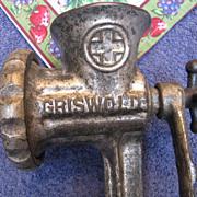 Griswold No. 2 Meat Grinder
