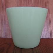 Jeannette Glass Jadite Green Beater Bowl