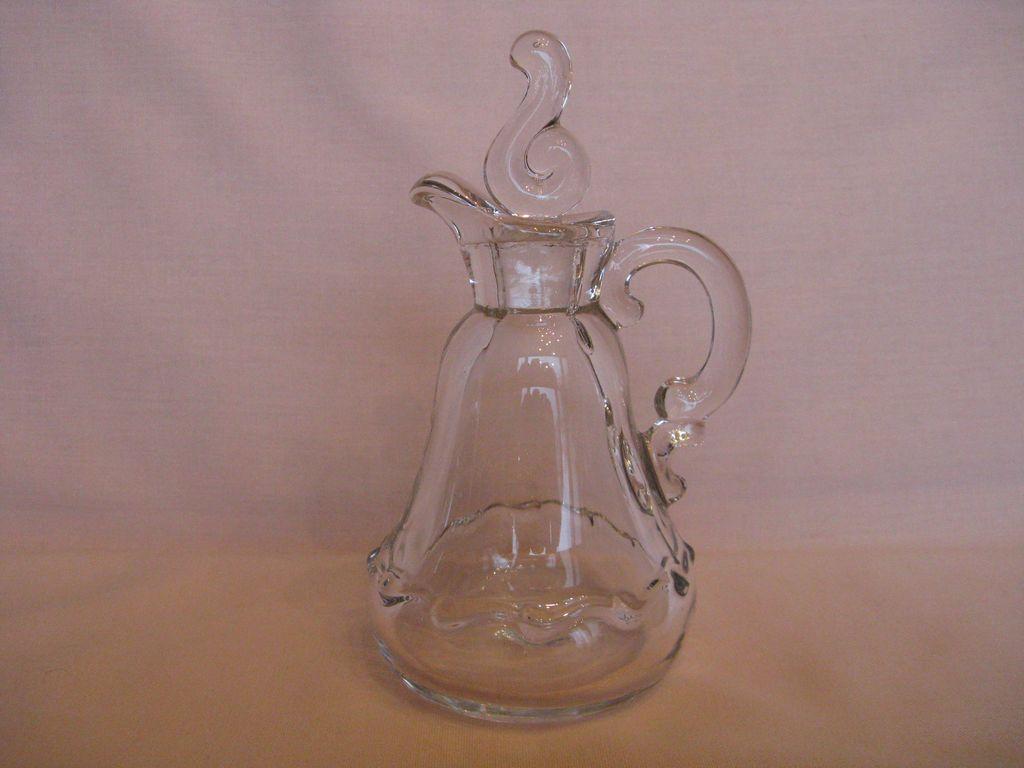 Fostoria Glass Century 5 oz Cruet