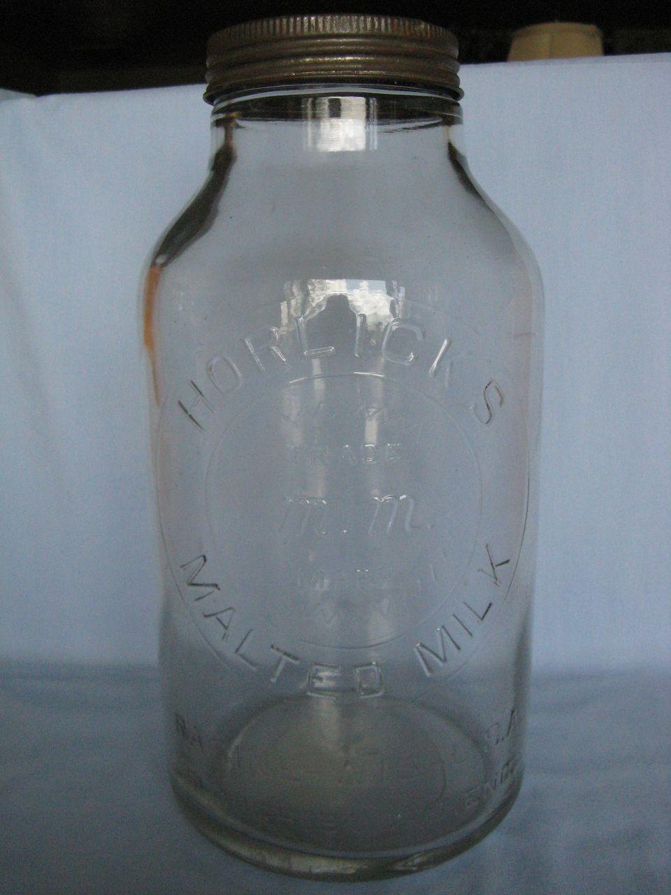 Horlick's Malted Milk Vintage Jar