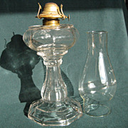Sharon Panel Oil Lamp