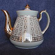 Hall China Philadelphia Ivory Teapot Gold Label Line