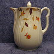 Hall China Autumn Leaf 9-Cup Rayed Coffee Pot