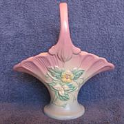 "Hull Pottery Wildflower Basket W-16-10-1/2"""