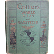 Collier's World Atlas and Gazetteer