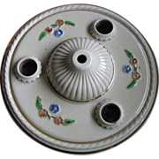 Porcelier Triple Ceiling Light Fixture