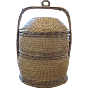 Chinese Two-Tiered Wedding Basket