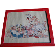 1940's Swan Soap Babies Picture