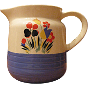 Universal Potteries Large Pitcher (1940's)