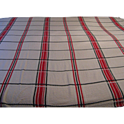 Vintage 1940s Bedspread Coverlet Blanket